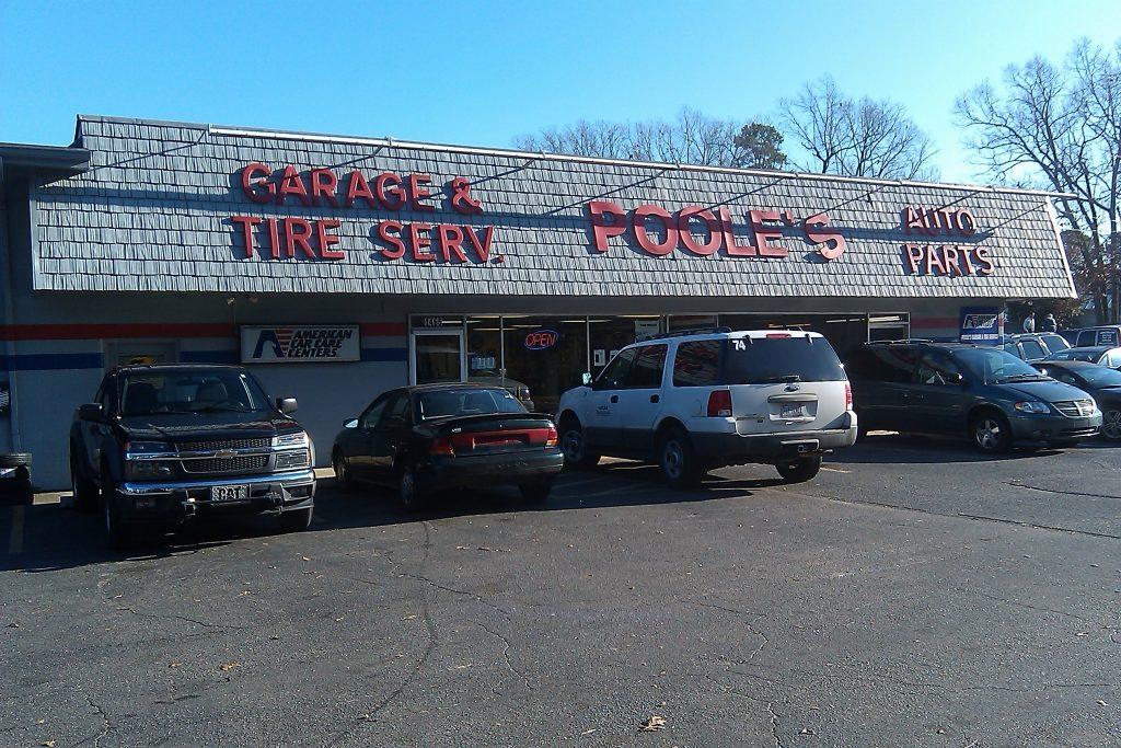 Pooles Garage Knightdale NC