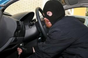 Thief Hot Wires a Car